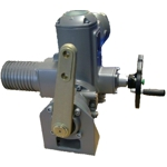 SQ part-turn actuators with base and lever